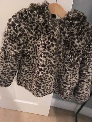 Girls M&S Coat Age 2-3 Years