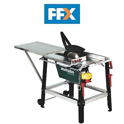 Metabo TKHS315M 110v 110v 2500w Site Table saw with 24T TCT Blade