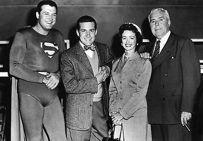 """Superman"" Cast  5x7 Television Memorabilia FREE US SHIPPING"