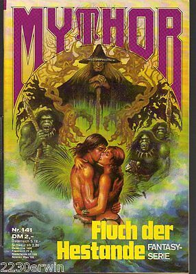 MYTHOR Fantasy Nr. 141 / (1980-1986 Pabel) / FLUCH DER HESTANDE