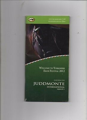 The Juddmonte International 2012 - FRANKEL - T Queally - Sir Henry Cecil
