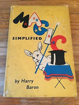 Magic Simplified ~ Harry Baron ~ Excellent Beginners Book