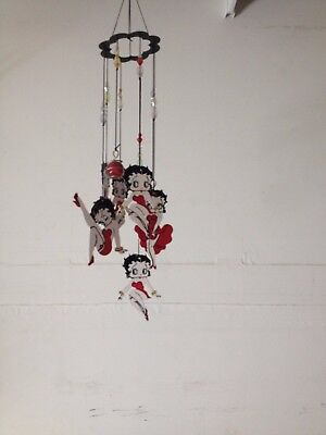 New Spoontiques BETTY BOOP Red Dress Wind Chime