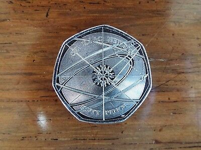 SIR ISAAC NEWTON 50p Coin 2017 -  New Uncirculated from Sealed Bag