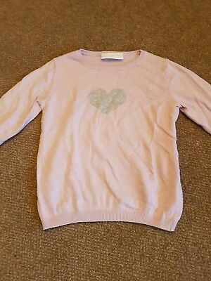 little white company girls jumper age 3-4 years