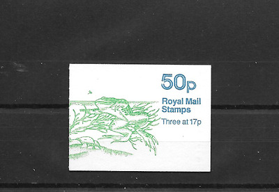 GB 1986 Pond Life #2 Folded 50p Booklet FB33a