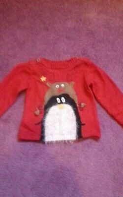 Girls christmas jumper.. age 4-5 from next