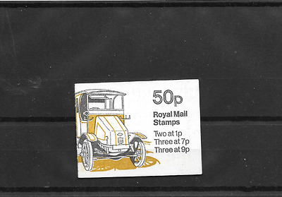 GB 1978 Guy Electric Dustcart Folded 50p Booklet FB6B