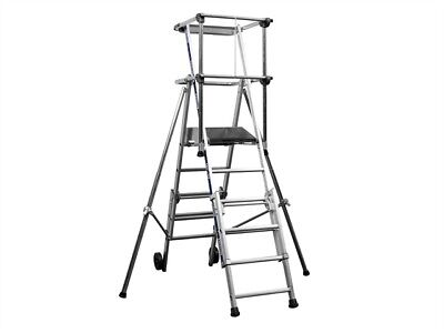 Zarges 2272251 Sherpascopic Height Adjust Podium 4-6