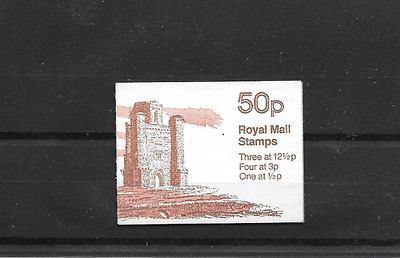 GB 1982 Paxton's Tower Folded 50p Booklet FB19A