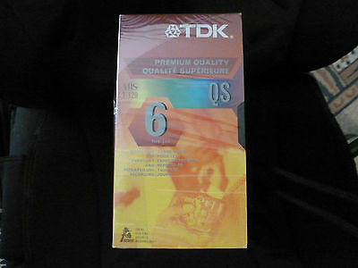 10 xTDK-6-hours recordable tape.NEW-sealed.