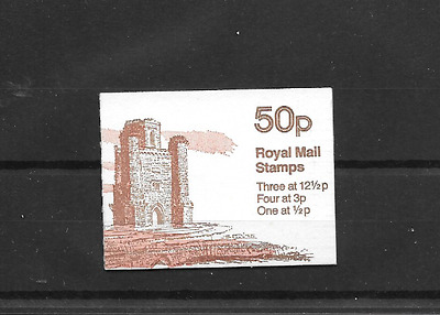 GB 1982 Paxton's Tower Folded 50p Booklet FB19B