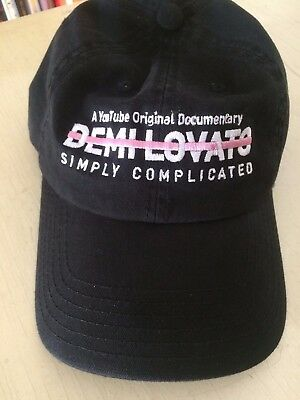 Demi Lovato Simply Complicated Documentary Crew Black Hat