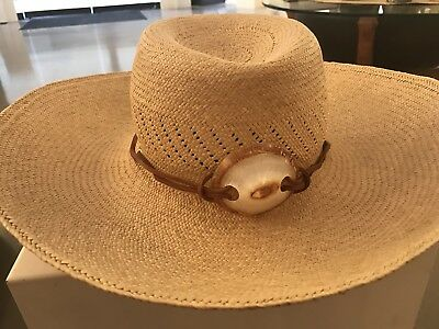 Beautifully Handwoven Heirloom Hawaiian Pandanus Hat (1/4) - No Reserve