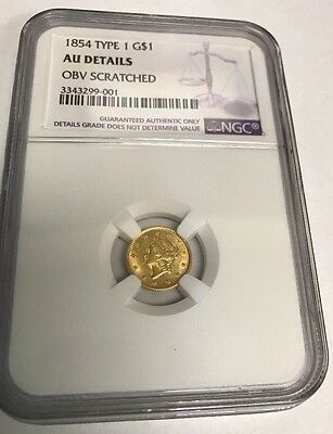 1854 Type 1 G$1 AU Details NGC