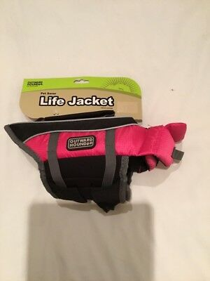 outward Hound X small pink life Jacket