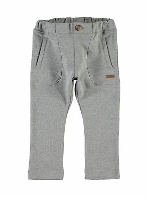 Name it Nitetalle Sweat Kinderhose Jogginghose grau cool 92-122 organic cott