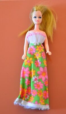 Pippa Doll Gorgeous Pippa Retro Palitoy Hong Kong Retro Doll 1970's With Outfit