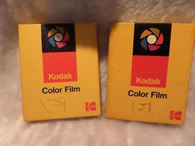 2 SEALED PACKS 4x5 in, OUTDATED KODAK VERICOLOR II , LARGE FORMAT