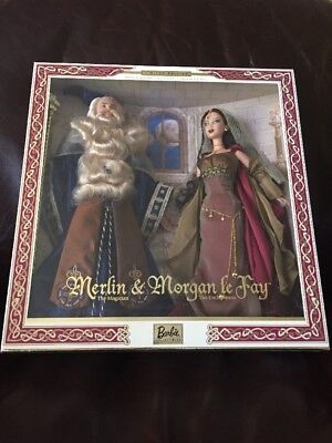 Mattel 2000 Ken and Barbie as Merlin and Morgan Le Fay Giftset Limited Edition