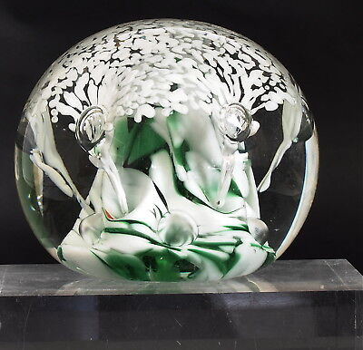 Joe Harmon American Art Glass Paperweight St Clair