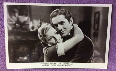 RP. Postcard No FS177  Tyrone Power & Annabella in SUEZ