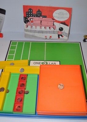 LEARN ABOUT MONEY Game 1973 Questor / Irwin - rj