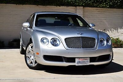 2008 Bentley Continental GT Diamond Black Leather 2008 Bentley Flying Spur W12 Mulliner
