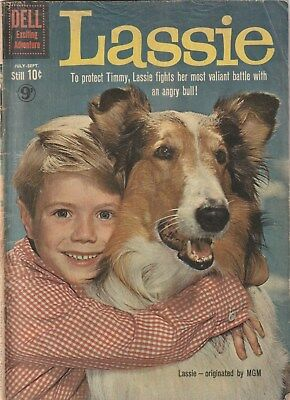 Lassie  Number 50 .dell Comics 1960. Tv And Movie Related Title.