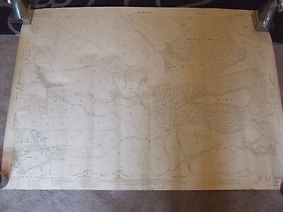 1928 Vintage Map of Radnorshire/ Herefordshire border - Ordnance Survey