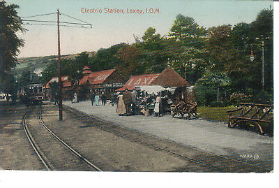 Iom Electric Station Laxey 1921