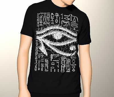 Eye of Horus, Egyptian, Ancient Egyptian Shirt GOTH, PAGAN, OCCULT, S-5XL