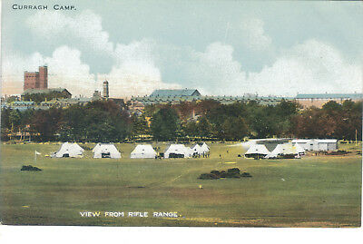 Curragh Camp View From Rifle Range