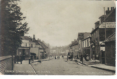 Walton On Thames Church Street 190? Harold Smith