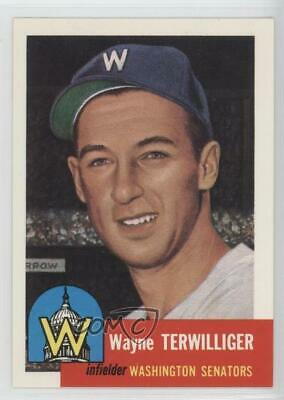 1991 Topps Archives The Ultimate 1953 Set #159 Wayne Terwilliger Baseball Card