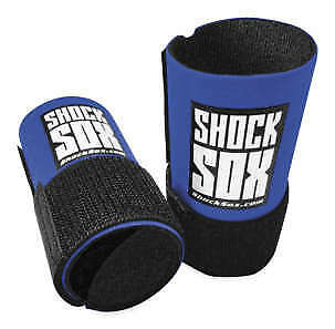 """Shock Sox Fork Seal Protector for Offroad 4"""" Mini for Conventional Forks Blue"""