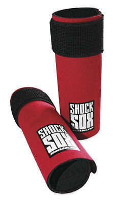"""Shock Sox Fork Seal Protector for Adventure/Touring 13"""" Inverted Forks Red"""