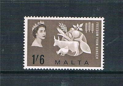 Malta 1963 Freedom from Hunger SG 311 MNH