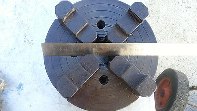 4 Jaw Independent Chuck Metal Lathe Chuck - 190mm