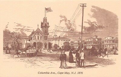 Columbia Ave Cape May NJ 1876 McCreary House Christian Science Building