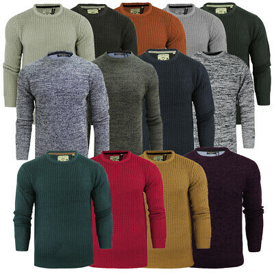 Mens Brave Soul Jumper Clearance on Heavy Mid Light Knitted Styles