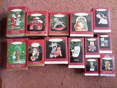 13 Hallmark Christmas Ornaments