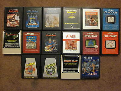 Lot Of 47 Atari 2600 Games