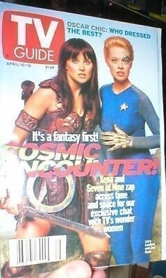 Xena And 7 Of 9 Tv Guide  Free Shipping