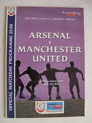 Arsenal v Manchester United 1999 Charity Shield