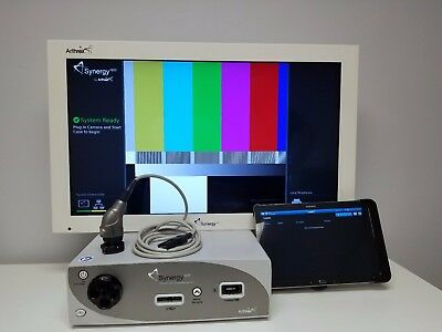 """Arthrex HD3 Synergy System with Tablet,Autoclavable Camera Head & 32"""" HD Monitor"""