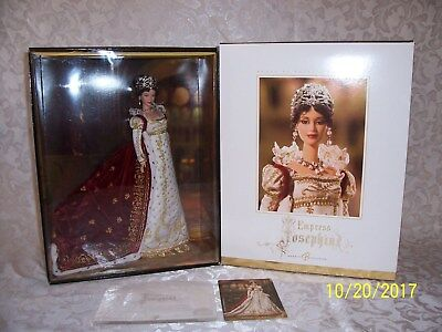 2005 Empress Josephine Women Of Royalty Collection Gold Label Barbie NRFB G8051