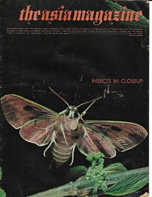 THE ASIA MAGAZINE - 27th MAY 1973 - HONG KONG SINGAPORE MACAO - FAR EAST
