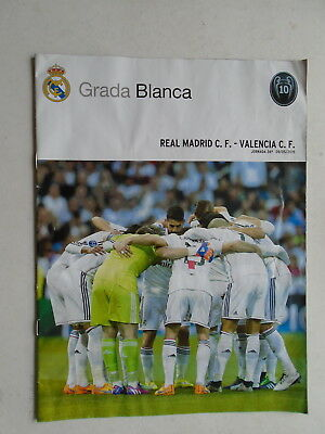 Real Madrid v Valencia 2014/15 La Liga