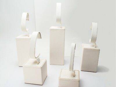 """5 Pieces Watch/braclet """" C """" Stand Set For Showcase/counter Top Display"""